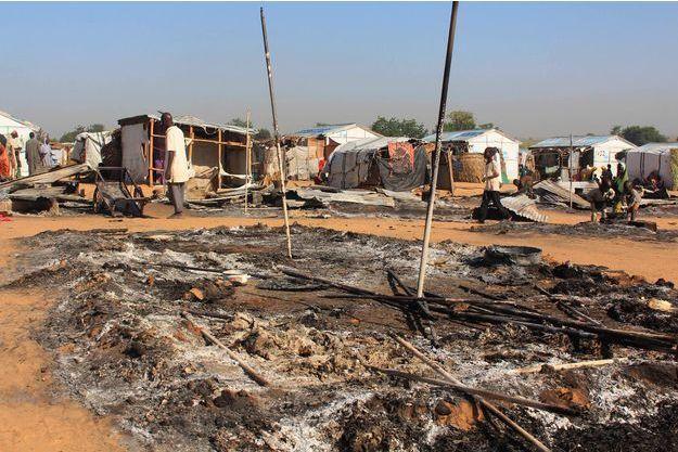 Dans le village de Dalori après le passage de Boko Haram, en novembre 2018.