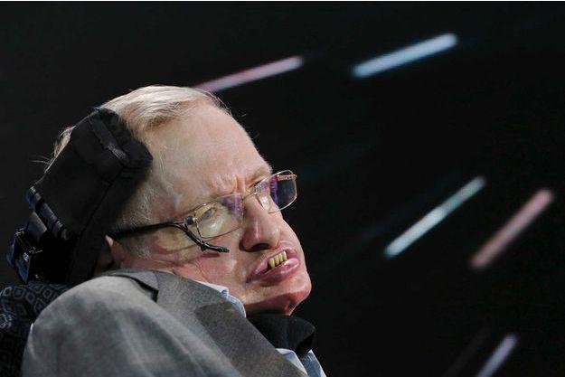 Stephen Hawking en 2016.