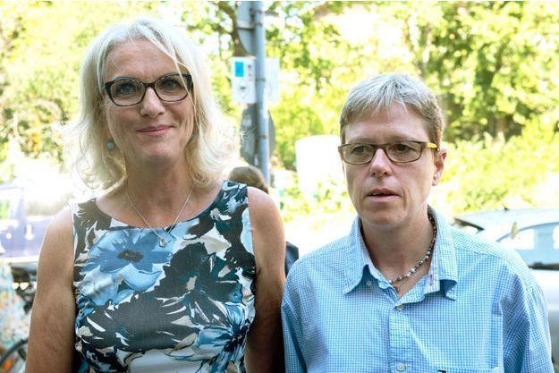 Bettina Gaber et Verena Weyer le 14 juin 2019 à Berlin.