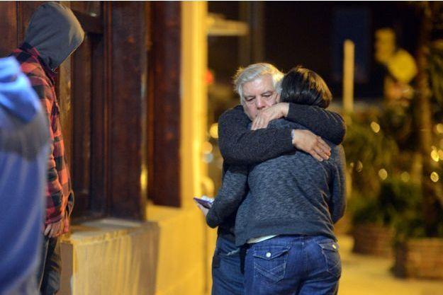 Des familles des victimes dans l'hôtel de Mar del Plata.