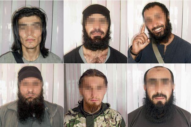 Six portraits de djihadistes français sortis des fichiers d'Ali le photographe de l'Etat islamique
