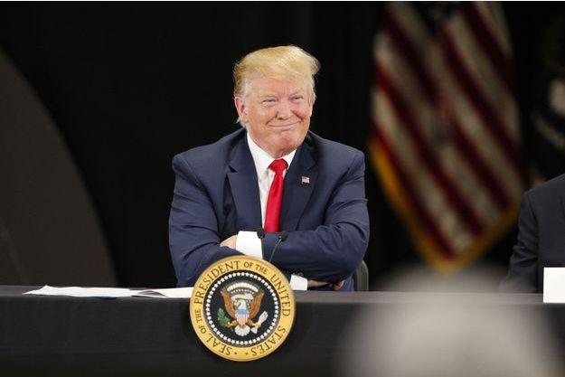 Donald Trump, le 15 avril 2019 à Burnsville.