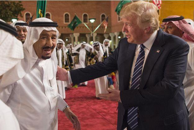 Salmane, Donald Trump