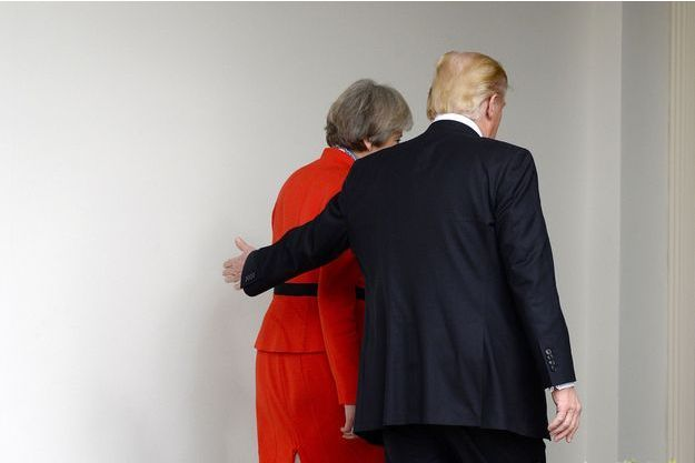 Donald Trump et Theresa May.