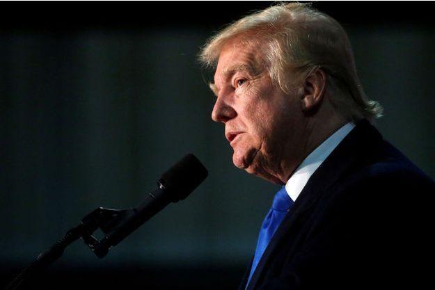 Donald Trump lors d'un meeting à Leesburg, en Virginie, le 6 novembre 2016.