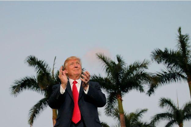 Donald Trump à Palm Beach, le 5 février.