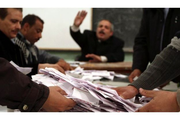 Vote sur la constitution en Egypte : Dépouillement à Beni Suef