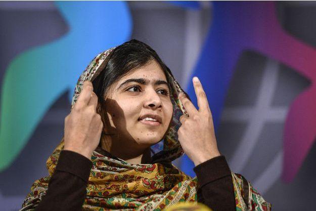 Malala recevait mercredi en Suède le prix des Enfants du Monde.