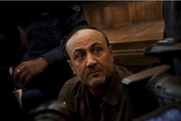 Marwan Barghouti, devant le tribunal en janvier 2012.