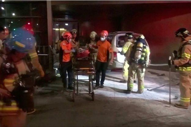 Le septuagénaire s'est immolé par le feu dans sa voiture.