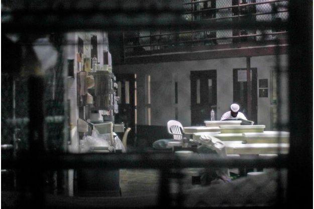Un détenu de la prison de Guantanamo.