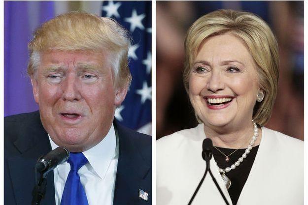 Donald Trump et Hillary Clinton, vainqueurs du Super Tuesday