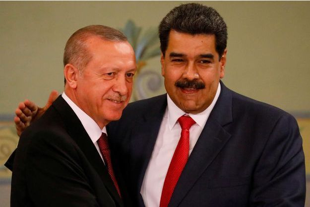Recep Tayyip Erdogan, Nicolas Maduro