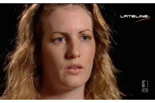 Valeska Paris dans l'émission Lateline sur ABC.