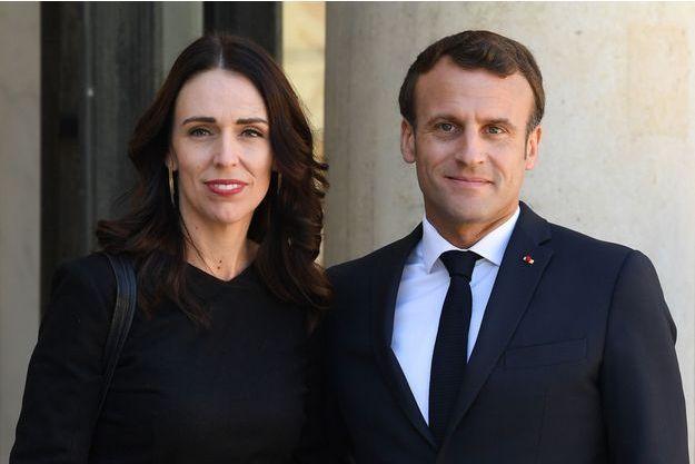 Ardern Macron