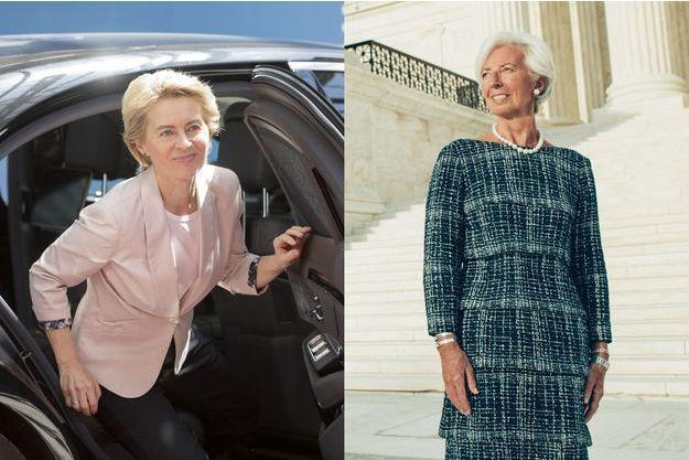 Ursula Von der Leyen et Catherine Lagarde