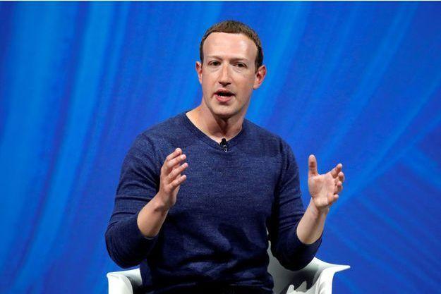 Mark Zuckerberg en octobre dernier.