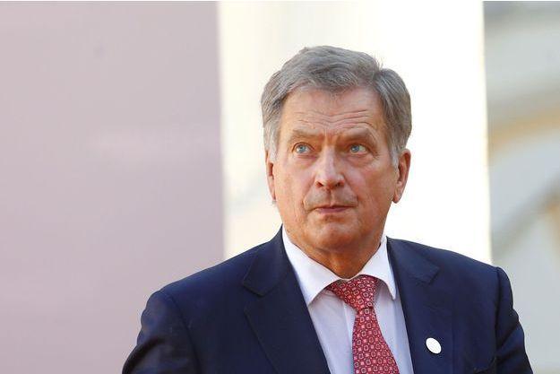 Le président finlandais Sauli Niinisto.