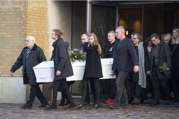 Les funérailles de Maren Ueland se sont tenues lundi en Norvège.
