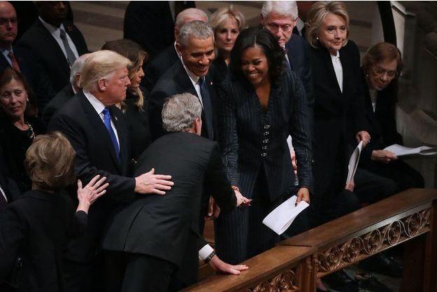 bush michelle obama