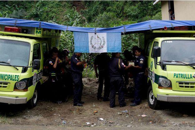 Les secours au Guatemala. Image d'illustration.