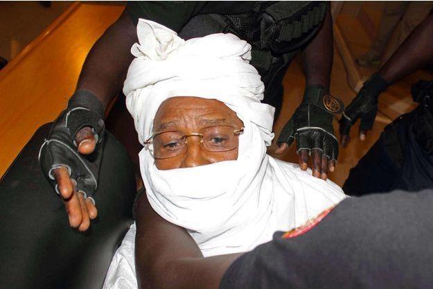 Hissène Habré en février dernier à son procès à Dakar.