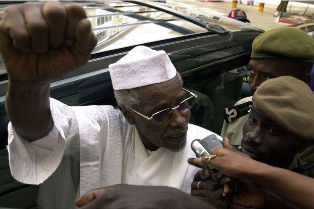 Hissène Habré en 2005 (il a refusé d'être photographié ce lundi).