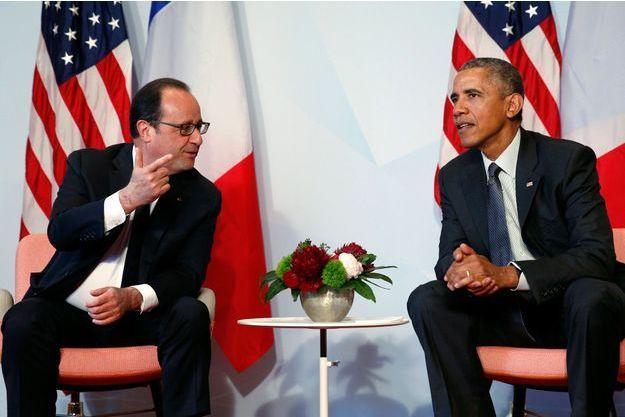 François Hollande et Barack Obama lors du dernier sommet du G7.