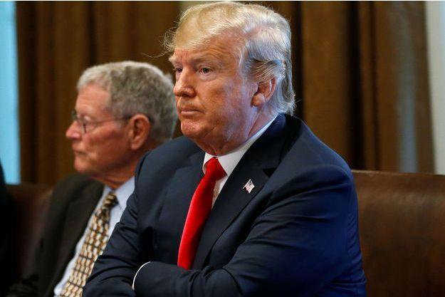 Donald Trump, à la Maison Blanche le 20 juin.