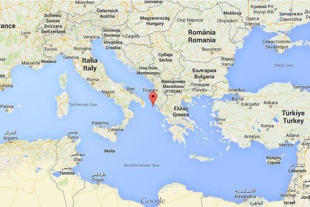 """Le ferry """"Norman Atlantic"""" a envoyé un signal de détresse près de la petite île grecque d'Othoni."""