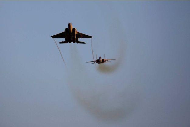 Des F-15 de l'armée israélienne en démonstration, en juillet 2019 (image d'illustration).