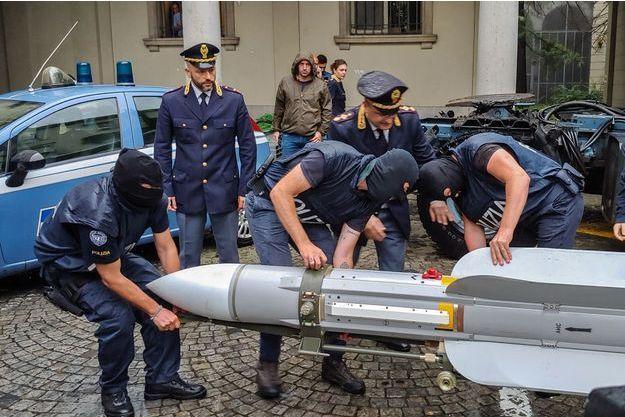 Le missile air-air était en état de marche.