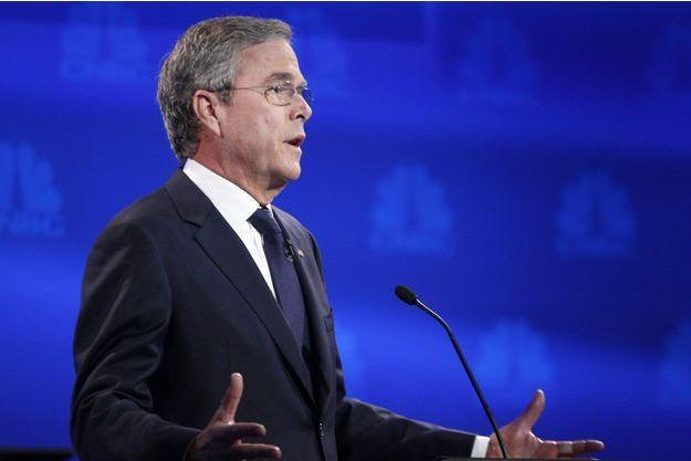 Jeb Bush lors du débat de mercredi dernier.
