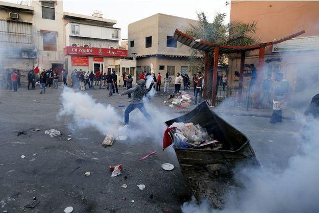 Des manifestations vendredi dernier à Bilad Al Qadeem, le village où habite Salman.