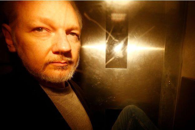 Julian Assange à Londres, le 1er mai.