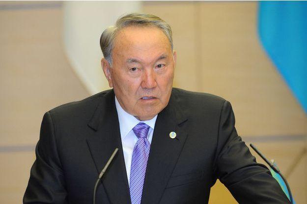 Le président kazakh Noursoultan Nazarbaïev.