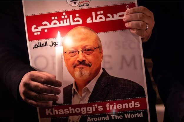 Hommage à Jamal Khashoggi à Istanbul