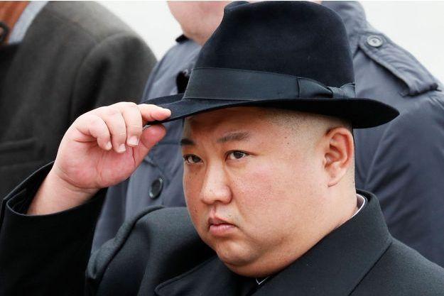 Kim Jong-un en Russie, le 26 avril.