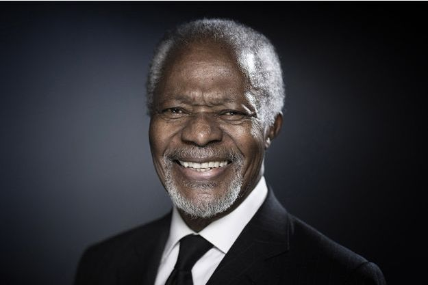 Kofi Annan en 2017.