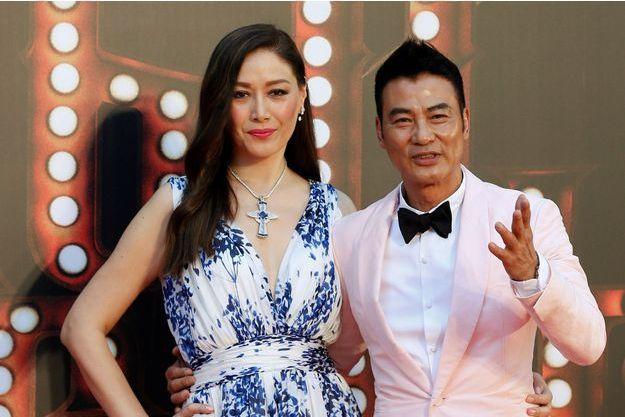 Simon Yam et sa femme Sophia Kao.