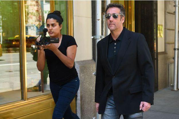 Michael Cohen à New York, le 15 juin dernier.