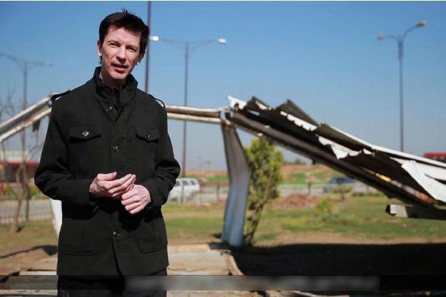 John Cantlie dans la vidéo de propagande du groupe terroriste Etat islamique.
