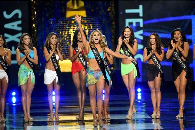 L'élection de Miss America 2018, en septembre 2017 à Atlantic City.
