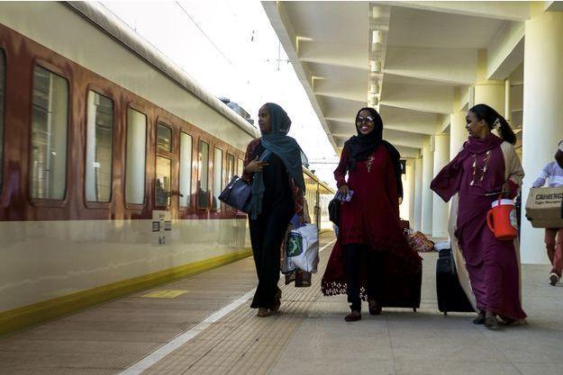 Gare de Nagad, Djibouti. La ligne que relie désormais le micro-Etat à l'Ethiopie est un axe commercial majeur pour la Corne de l'Afrique.
