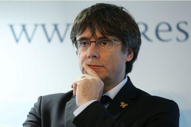 Carles Puidgemont le 10 avril 2019.