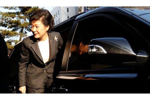 Park Geung-hye.