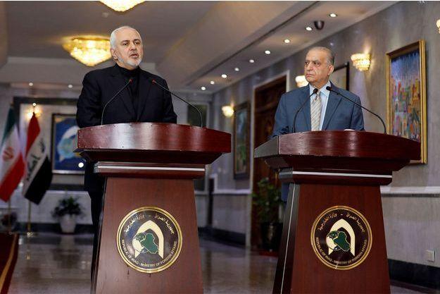 Mohammad Javad Zarif et Mohamed Ali Alhakim