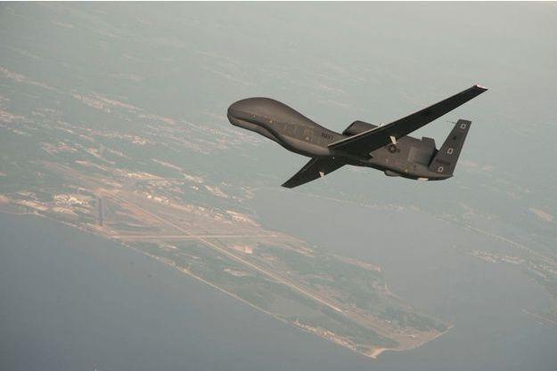 Un modèle de drone Global Hawk.