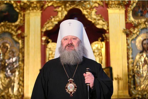 Le métropolite Pavlo à Kiev, en novembre 2018.