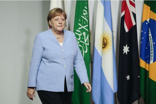 Angela Merkel le 28 juin à Osaka.